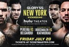 Middleweight & Featherweight titel op het spel tijdens GLORY 55 in New York