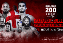 Uitslagen : Bellator 200 : Carvalho vs. Mousasi