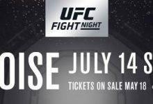 Dennis Bermudez keert terug tijdens UFC Boise tegen Rick Glenn