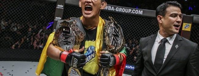 Dubbel kampioen Aung La N Sang naar ONE: Spirit of a Warrior
