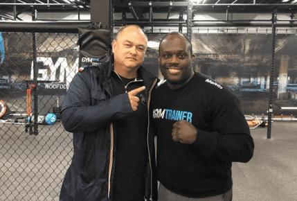 Melvin Manhoef treft Simon Biyong op 10 oktober