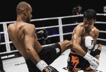 Tyjani Beztati verkoopt huid duur tijdens titelgevecht met Sitthichai