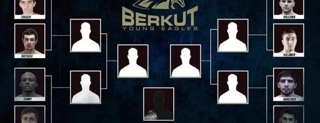 Gerardo Fanny treft Dzokhar Eskiev tijdens kwartfinale Berkut Young Eagles toernooi
