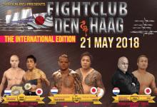 Terugkijken: Fight Club Den Haag Welcome to the Octagon