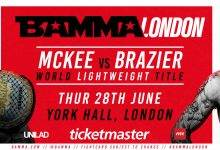 Uitslagen : BAMMA Fight Night London : McKee vs. Brazier