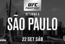 Voormalig Heavyweights Henrique de Oliveira en Godbeer treffen elkaar tijdens UFC São Paulo