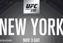 Rematch-Alert: Rockhold vs. Weidman 2 tijdens UFC 230 in New York