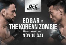 Frankie Edgar vs. Chan Sung Jung is het Main Event voor UFC Denver
