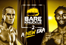 Andrew Yates vs. Charles Bennett voor BKFC 2