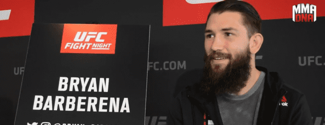 "UFC Lincoln Video-Interview : Bryan ""BamBam"" Barberena"