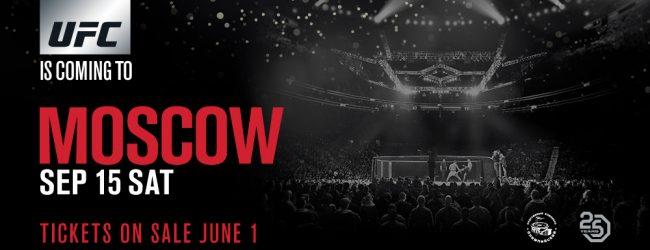 Khalid Murtazaliev vervangt Artem Frolov tijdens UFC: Moskou