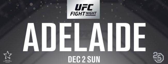Wilson Reis treft Ben Nguyen tijdens UFC Adelaide in Flyweightclash