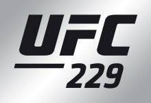 Lightweightclash tussen Nik Lentz en Gray Maynard tijdens UFC 229 in Las Vegas