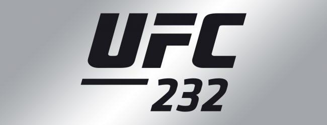 Uriah Hall verwelkomt de ongeslagen Bevon Lewis tijdens UFC 232 in Las Vegas