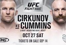 Drie gevechten toegevoegd aan UFC Moncton card inclusief Cirkunov vs. Cummins