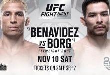 UPDATE: Top 5 vechters Joseph Benavidez en Ray Borg treffen elkaar tijdens UFC Denver