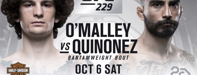 Jose Quinonez treft Sean O'Malley tijdens UFC 229 in Las Vegas