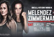 Keri Melendez maakt opwachting tegen Dakota Zimmerman tijdens Bellator 206