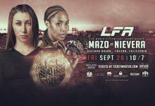 Sabina Mazo verdedigt titel tegen Jaimee Nievera tijdens LFA 51