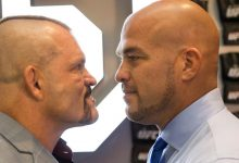 Chuck Liddell vs. Tito Ortiz 3 tijdens Golden Boy Promotions evenement
