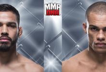 """Julio Arce gaat """"Trifecta"""" compleet maken tegen Sheymon Moraes tijdens UFC 230 in New York"""