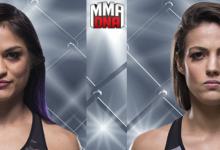 Cynthia Calvillo maakt comeback tegen Poliana Botelho tijdens UFC Buenos Aires