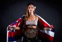 Ilima-Lei Macfarlane verdedigt Bellator titel in Honolulu tegen Valérie Létourneau