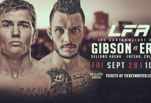 Uitslagen : LFA 51 : Gibson vs. Erak
