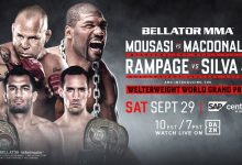 Uitslagen : Bellator 206 : Mousasi vs. MacDonald
