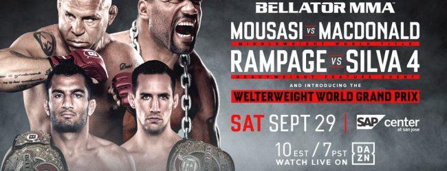 Uitslagen : Bellator 206 : Mousasi vs. MacDonald