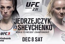 Jedrzejczyk vs. Shevchenko alsnog voor de vacante Flyweight titel in Toronto