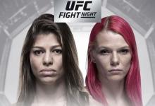 UFC debutante Mayra Bueno Silva treft Gillian Robertson tijdens UFC São Paulo