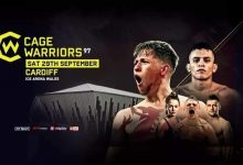 Uitslagen : Cage Warriors 97 : Shore vs. Maia