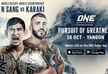 Uitslagen : ONE Championship 81 : Pursuit of Greatness