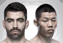 """Li Jingliang zonder tegenstander voor UFC Beijing na blessure Elizeu """"Capoeira"""""""