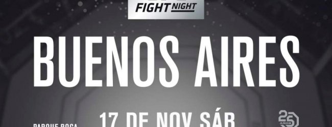 Ongeslagen Sergio Giglio pakt short notice gevecht tegen Nad Narimani in Buenos Aires