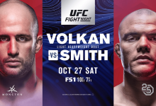 Uitslagen : UFN 138 Moncton : Oezdemir vs. Smith