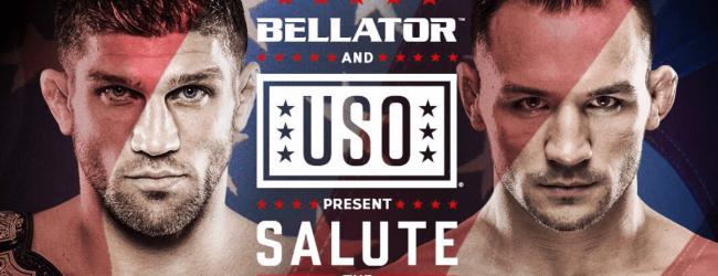 "Brent Primus vs. Michael Chandler 2 tijdens Bellator Hawaii ""tweedaagse"""