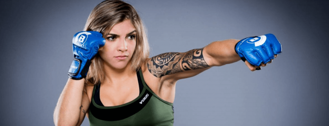 Bruna Ellen vs. Kristina Williams toegevoegd aan Bellator 210 card in Oklahoma
