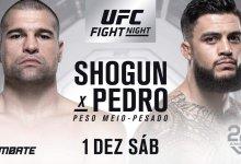"""""""Shogun"""" keert terug tegen Tyson Pedro tijdens UFC Fight Night Adelaide"""