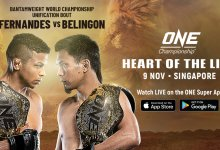 Uitslagen : ONE Championship 82 : Heart of the Lion