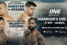 Uitslagen : ONE Championship 83 : Warrior's Dream