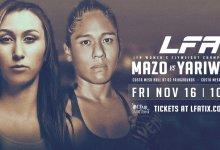Uitslagen : LFA 54 : Mazo vs. Yariwaki