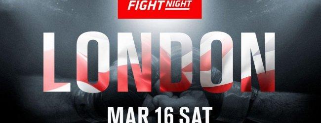 Nick Negumereanu maakt UFC debuut tegen Saparbeg Saforov tijdens UFC Londen