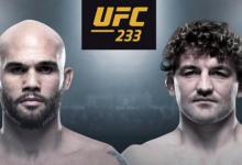 UFC debuut voor Ben Askren tegen Robbie Lawler tijdens UFC 233 in Anaheim