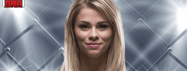 Paige VanZant treft Rachael Ostovich-Berdon tijdens UFC Brooklyn in 2019