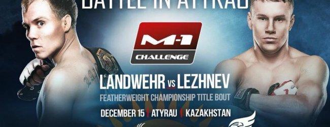 Uitslagen : M-1 Challenge Atyrau : Landwehr vs. Lezhnev