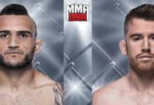 John Lineker vervangt Thomas Almeida tegen Cory Sandhagen tijdens UFC Brooklyn