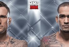Ongeslagen Gregor Gillespie treft Yancy Medeiros tijdens UFC Brooklyn