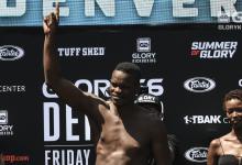 Danyo Ilunga ontslagen bij GLORY Kickboxing